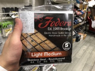 Fodera Strings 5st. Stainless Light Medium 44-125