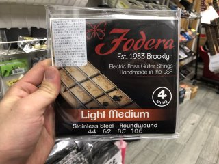 Fodera Strings 4st. Stainless Light Medium 44-106