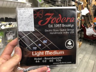 Fodera Strings 4st. Nickel Light Medium 44-106