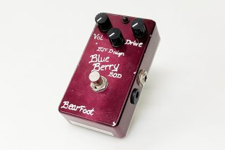 Bearfoot Guitar Effects BlueBerry Bass Overdrive