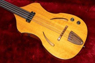 【used】Yairi Guitar bass fretless 2.39kg