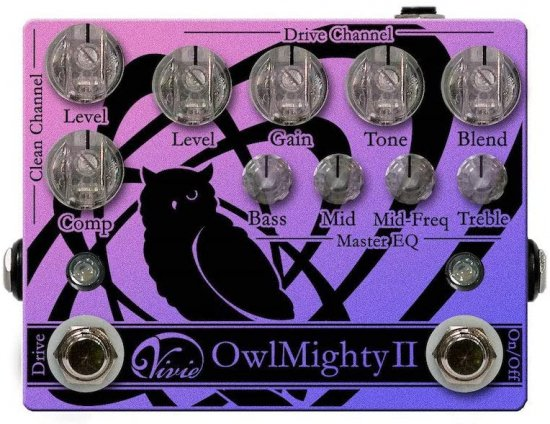 【new】Vivie OwlMighty II Bass Preamp【送料無料】