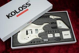 【new】KOLOSS GUITARS GT-4 DIY KIT WHITE