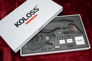 【new】KOLOSS GUITARS GT-4 DIY KIT BLACK
