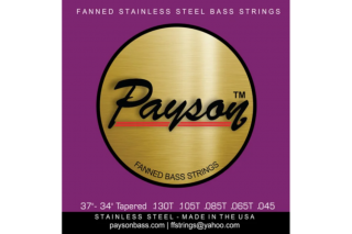 【new】Payson Fanned  SS 5 String Set 130T-045 37