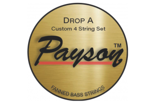 【new】Payson Fanned  Drop A NS 4 String Set  145T-060 36.25