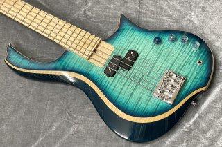 【used】Gombo bass guitars custom bass blue burst 3.78kg【委託品】【兵庫店】