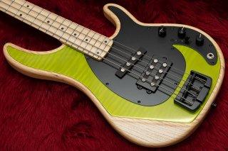 【new】Alusonic Custom Shop Django Deluxe 4 Natural / Green #0921301 3.53kg【横浜店】