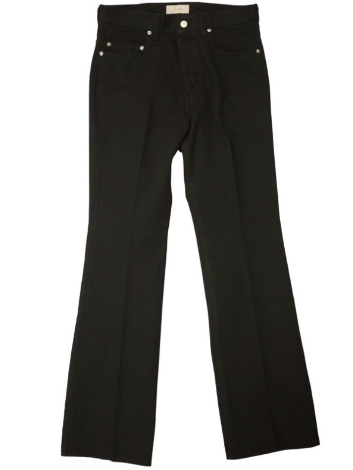 JieDa<br />OW FLARE DENIM PANTS / BLACK <img class='new_mark_img2' src='https://img.shop-pro.jp/img/new/icons47.gif' style='border:none;display:inline;margin:0px;padding:0px;width:auto;' />