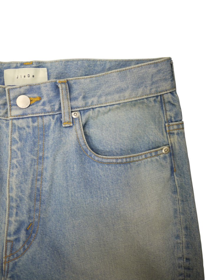 JieDa<br />USED FLARE DENIM PANTS / INDIGO