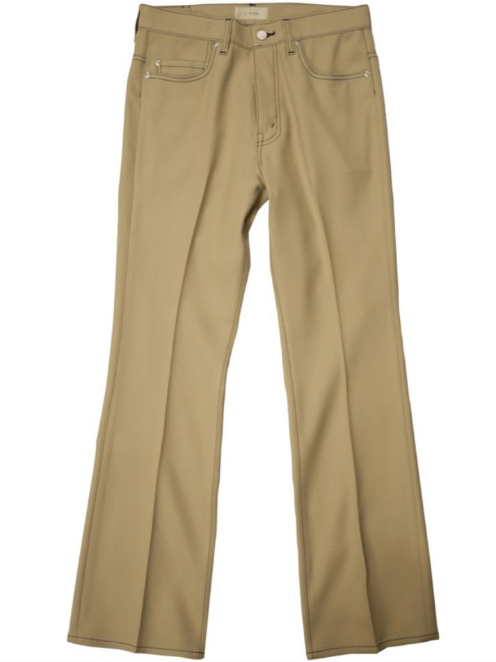 JieDa<br />FLARE PANTS / BEIGE <img class='new_mark_img2' src='https://img.shop-pro.jp/img/new/icons14.gif' style='border:none;display:inline;margin:0px;padding:0px;width:auto;' />