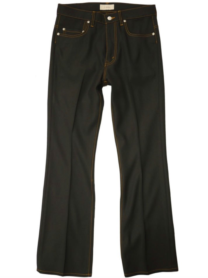 JieDa<br />FLARE PANTS BLACK