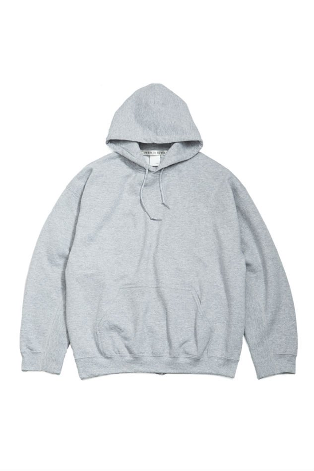 soe<br />[30%off] Elbow Patched Back Open Hoodie collaborated PRE_ / GRAY