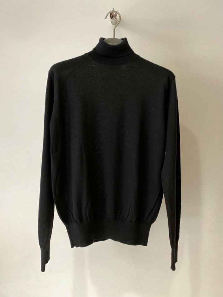 ALLEGE<br />[30%off] Standard Turtleneck Knit / BLACK