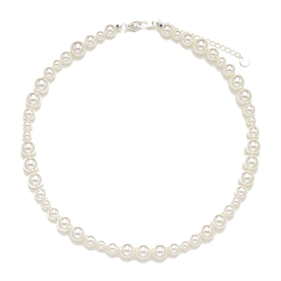 BUYING ITEM<br />mix pearl necklace (M)