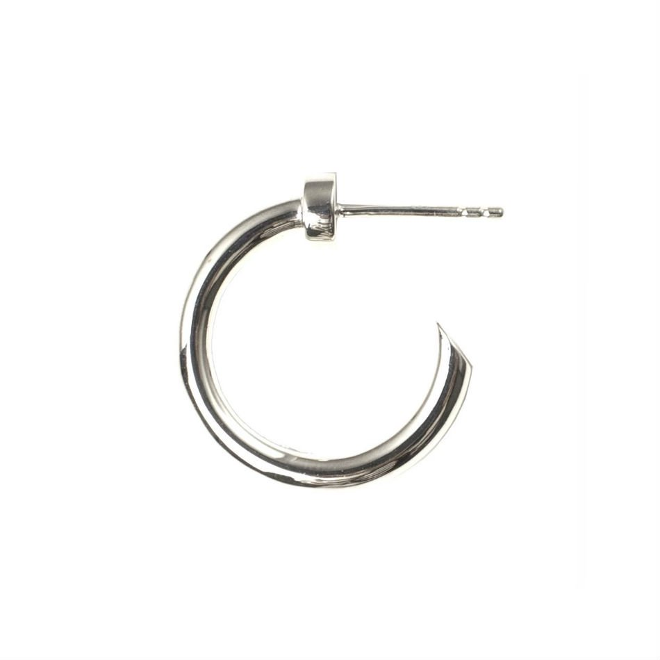 EPHEMERAL<br />stud hoop pierce(silver)