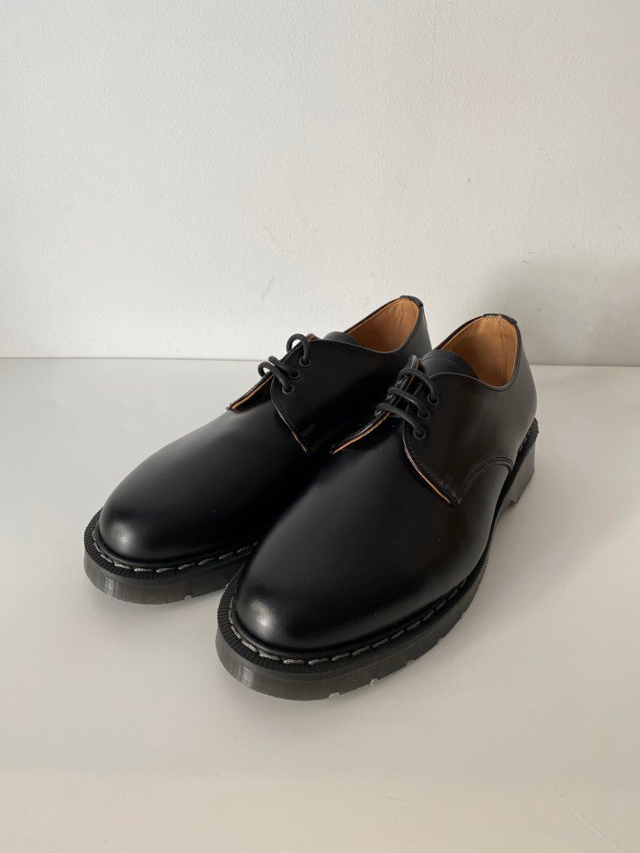 SOLOVAIR<br />THE 3EYE GIBSON SHOE / BLACK