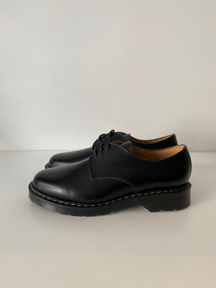 SOLOVAIR<br />THE 3EYE GIBSON SHOE / BLACK <img class='new_mark_img2' src='https://img.shop-pro.jp/img/new/icons14.gif' style='border:none;display:inline;margin:0px;padding:0px;width:auto;' />