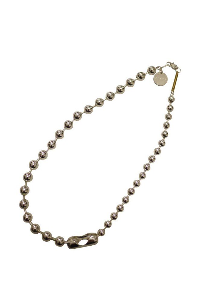 JieDa<br />SWITCHING BALL CHAIN NECKLACE <img class='new_mark_img2' src='https://img.shop-pro.jp/img/new/icons47.gif' style='border:none;display:inline;margin:0px;padding:0px;width:auto;' />
