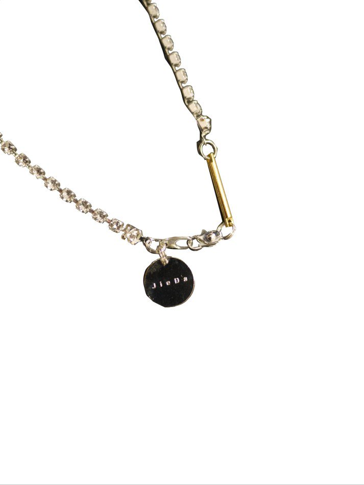 JieDa<br />FAKE DIAMONDO NECKLACE / SILVER <img class='new_mark_img2' src='https://img.shop-pro.jp/img/new/icons47.gif' style='border:none;display:inline;margin:0px;padding:0px;width:auto;' />