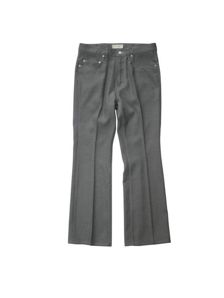 JieDa<br />FLARE PANTS / GRAY <img class='new_mark_img2' src='https://img.shop-pro.jp/img/new/icons14.gif' style='border:none;display:inline;margin:0px;padding:0px;width:auto;' />