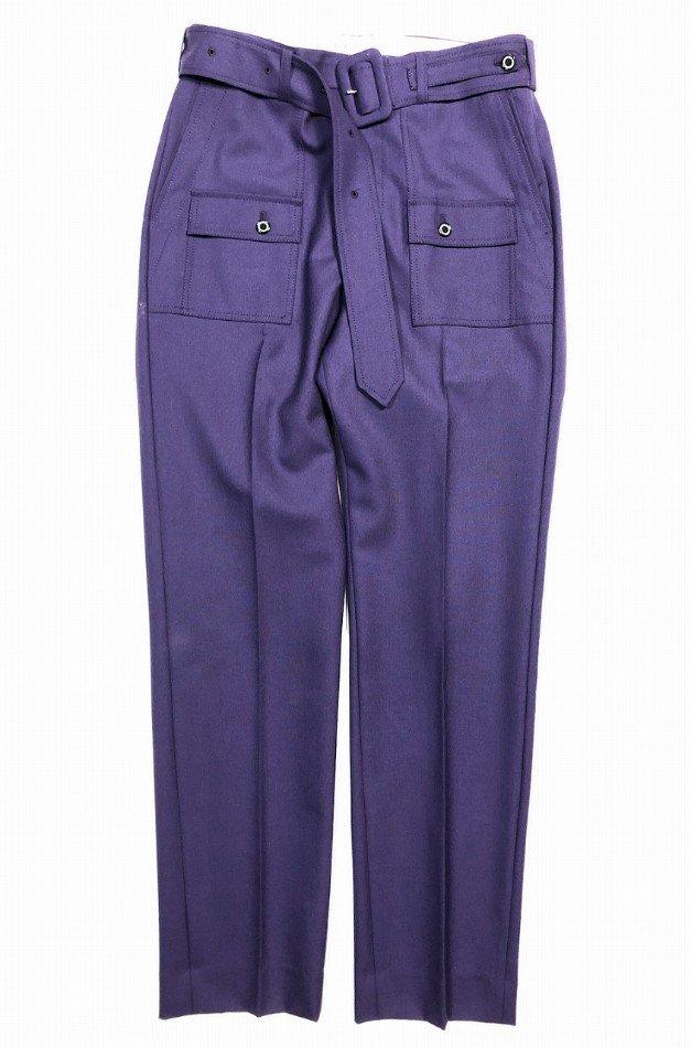 DAIRIKU<br />Jimi Hendrix Double Tailored Jacket & Bush Detail WoolSlacks with Velt SET / Purple  <img class='new_mark_img2' src='https://img.shop-pro.jp/img/new/icons14.gif' style='border:none;display:inline;margin:0px;padding:0px;width:auto;' />