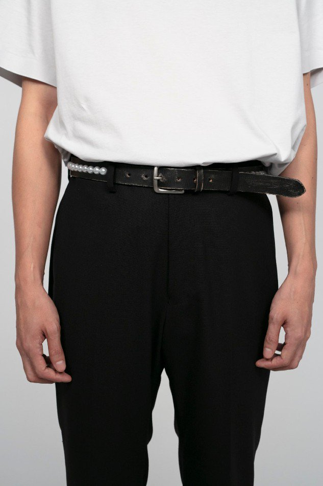 soe<br />Peal Belt / BLACK <img class='new_mark_img2' src='https://img.shop-pro.jp/img/new/icons14.gif' style='border:none;display:inline;margin:0px;padding:0px;width:auto;' />
