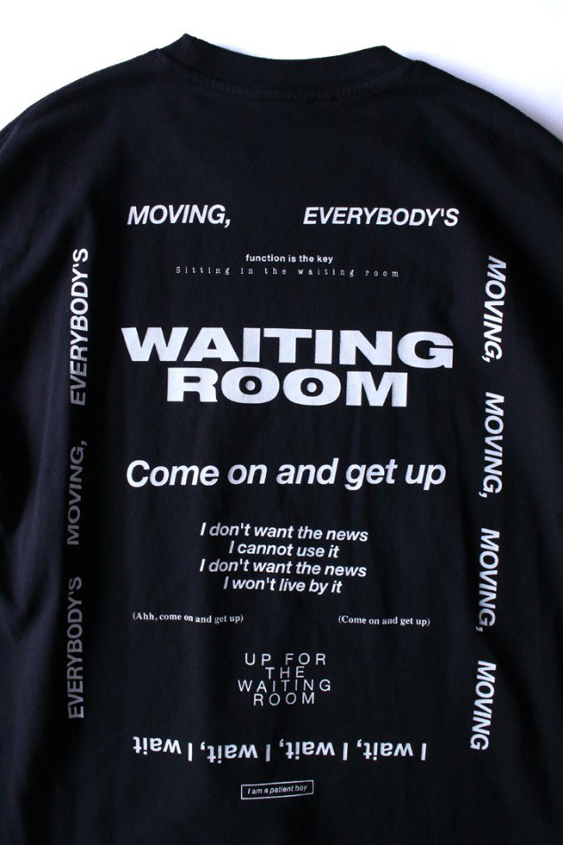 soe<br />Waiting Room / BLACK <img class='new_mark_img2' src='https://img.shop-pro.jp/img/new/icons47.gif' style='border:none;display:inline;margin:0px;padding:0px;width:auto;' />