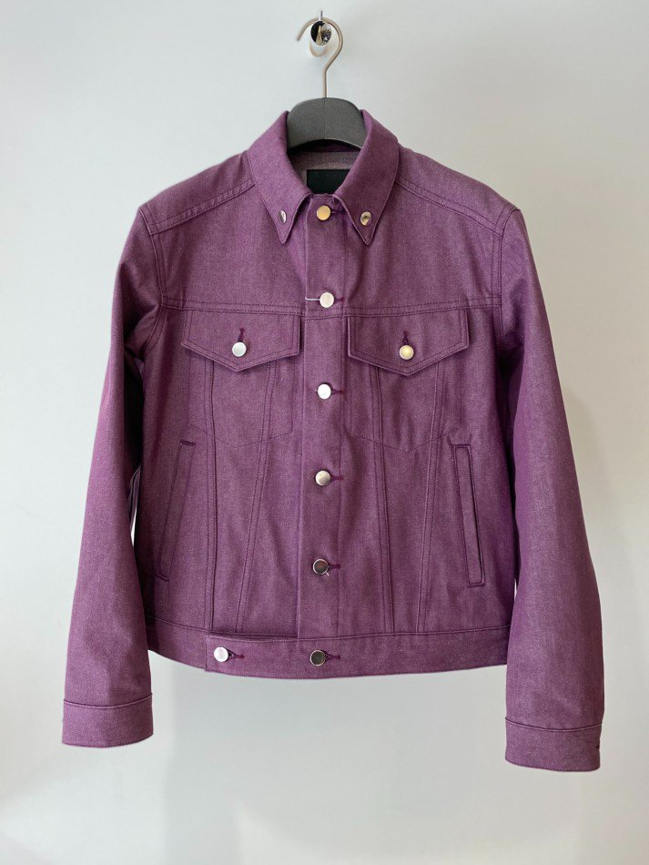LITTLEBIG<br />Denim Blouson / Purple