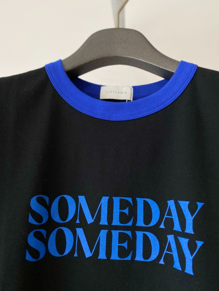 LITTLEBIG<br />SOMEDAY TS / Black×Blue <img class='new_mark_img2' src='https://img.shop-pro.jp/img/new/icons14.gif' style='border:none;display:inline;margin:0px;padding:0px;width:auto;' />