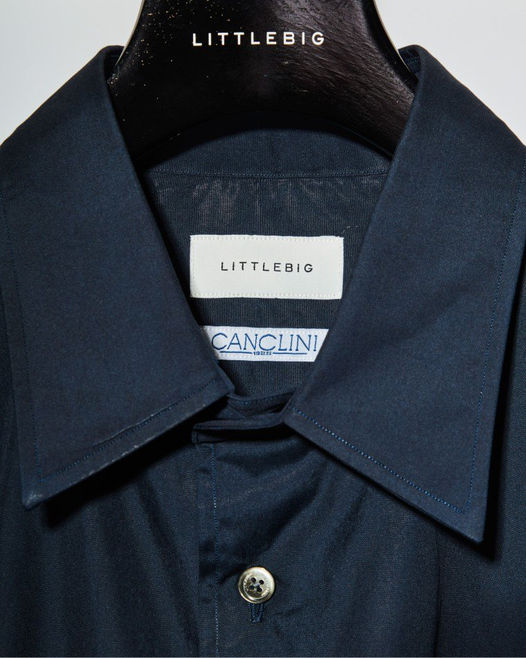 LITTLEBIG<br />Dress SH / Navy <img class='new_mark_img2' src='https://img.shop-pro.jp/img/new/icons14.gif' style='border:none;display:inline;margin:0px;padding:0px;width:auto;' />