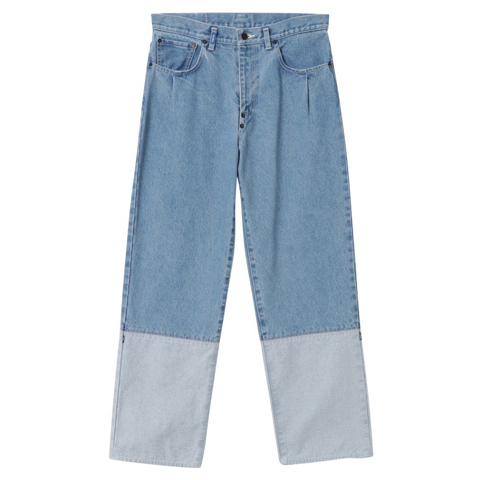 kudos<br />2TONE DENIM PANTS / BIO
