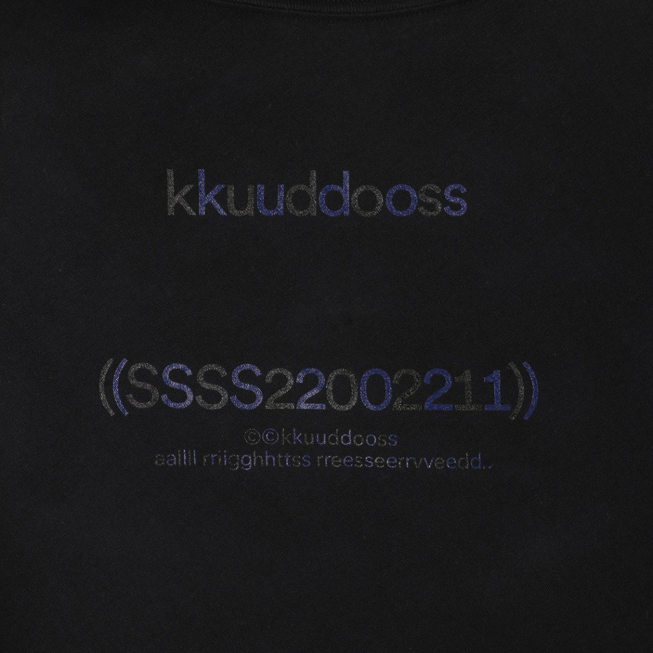 kudos<br />WE ARE HERE TOGETHER! T-SHIRT / BLACK