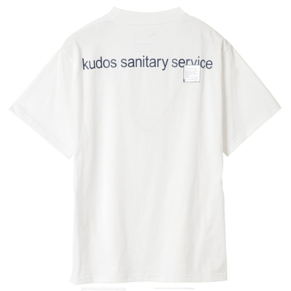 kudos<br />SANITARY T-SHIRT / WHITE