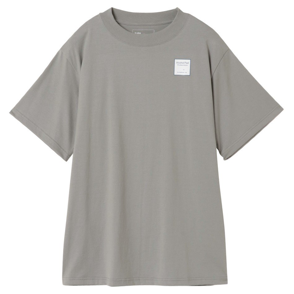 kudos<br />SANITARY T-SHIRT / GRAY <img class='new_mark_img2' src='https://img.shop-pro.jp/img/new/icons14.gif' style='border:none;display:inline;margin:0px;padding:0px;width:auto;' />