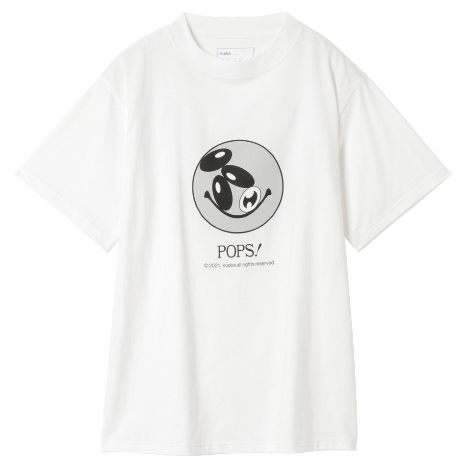 kudos<br />POPS! T-SHIRT / WHITE