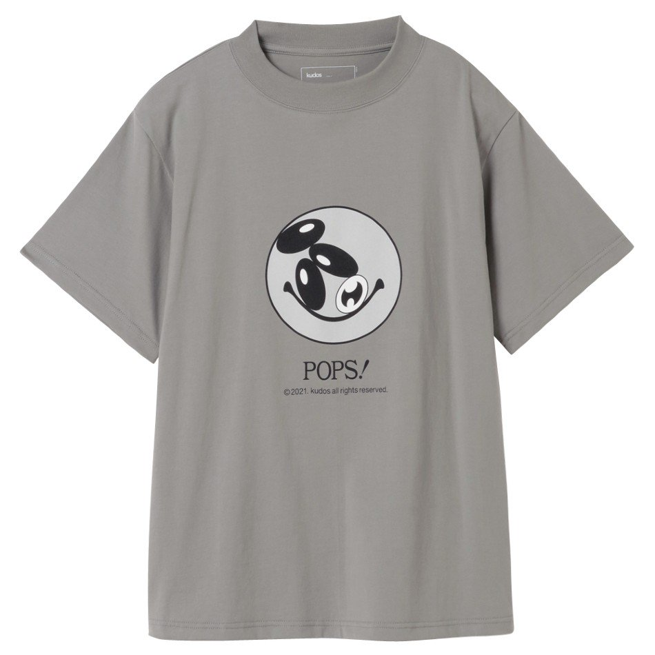 kudos<br />POPS! T-SHIRT / GRAY <img class='new_mark_img2' src='https://img.shop-pro.jp/img/new/icons14.gif' style='border:none;display:inline;margin:0px;padding:0px;width:auto;' />
