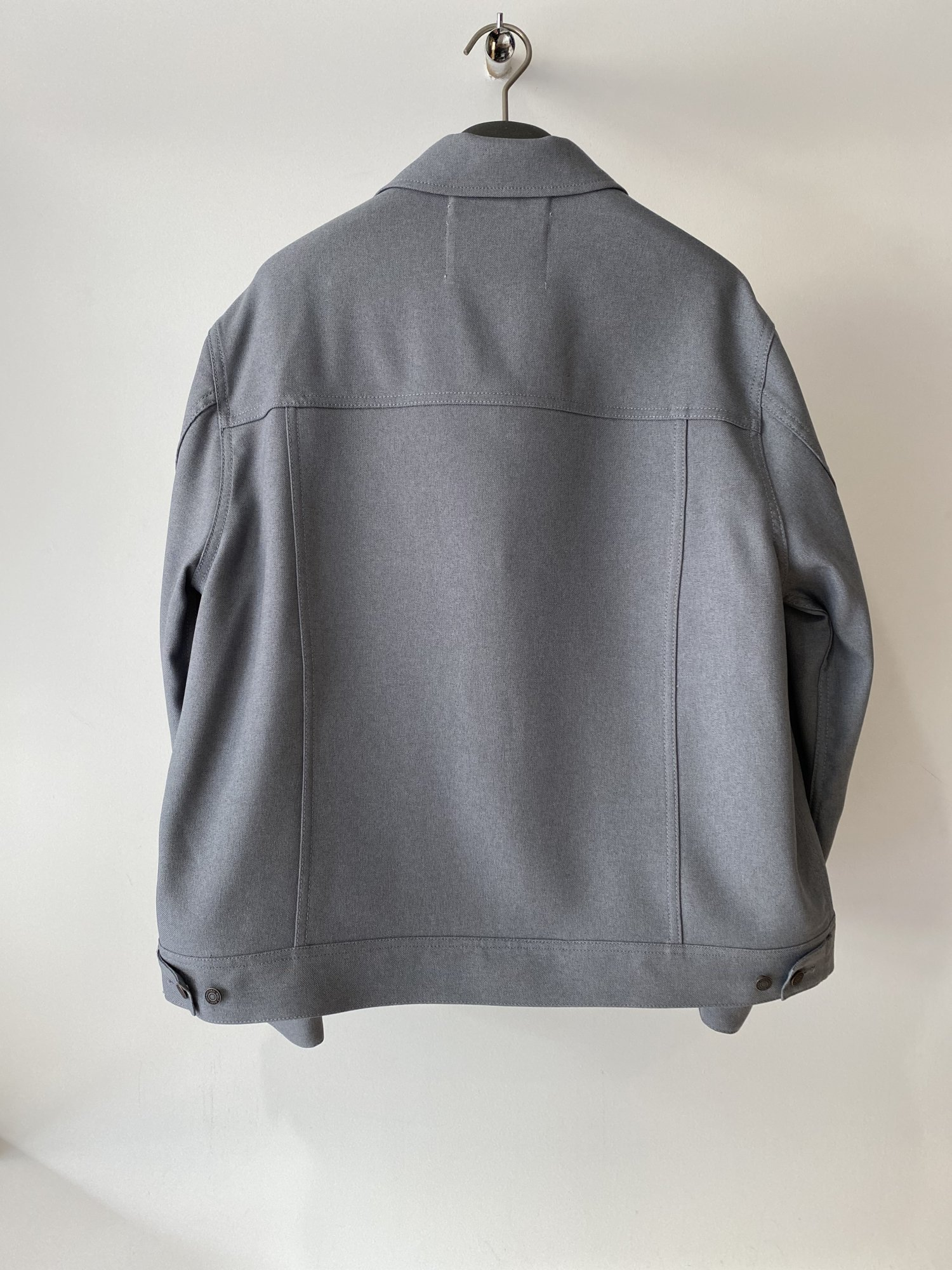 DAIRIKU<br />Regular Polyester Jacket / Concrete