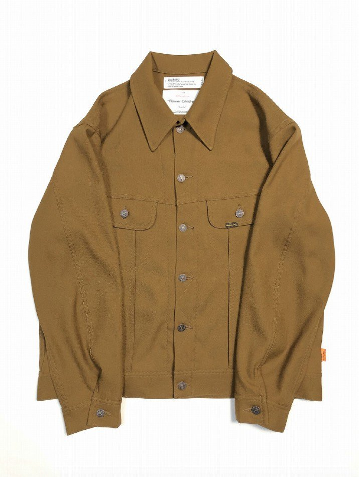 DAIRIKU<br />Regular Polyester Jacket / Soil 