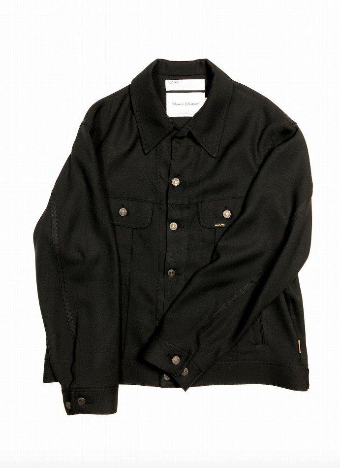DAIRIKU<br />Regular Polyester Jacket / Black  <img class='new_mark_img2' src='https://img.shop-pro.jp/img/new/icons14.gif' style='border:none;display:inline;margin:0px;padding:0px;width:auto;' />