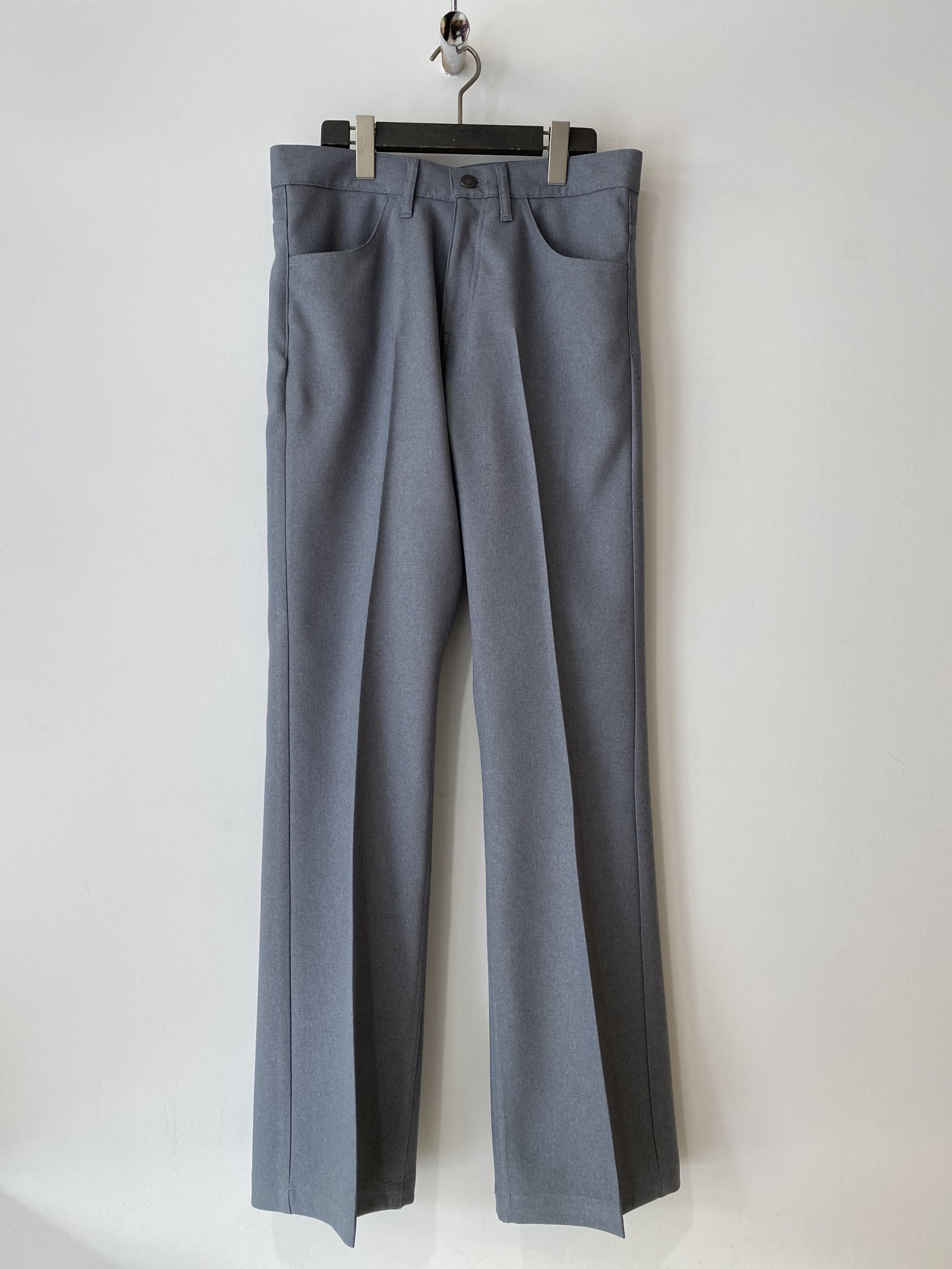DAIRIKU<br />Flare Flasher Pressed Pants / Concrete 