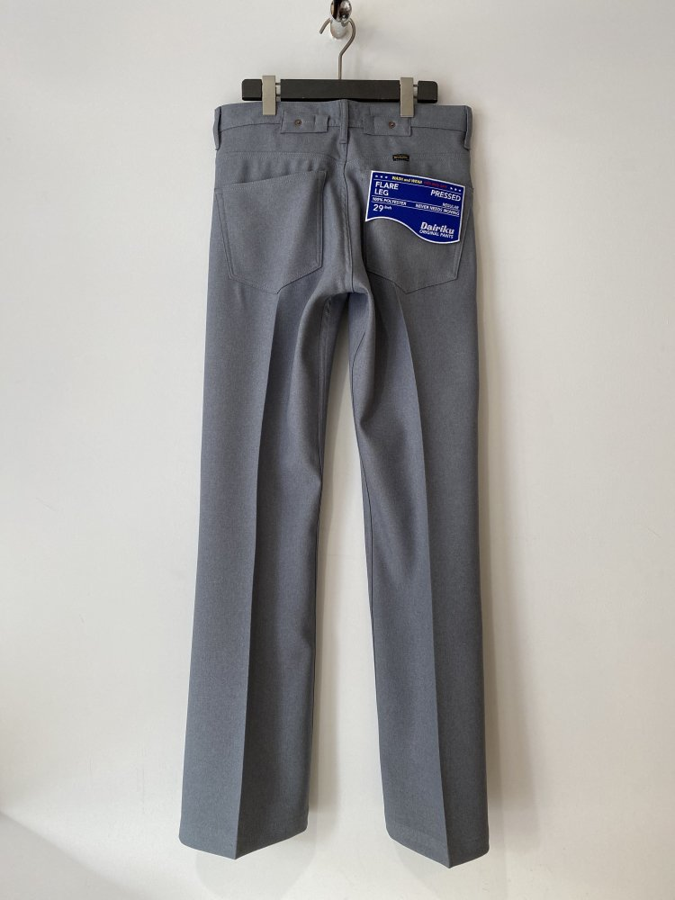 DAIRIKU<br />Flare Flasher Pressed Pants / Concrete  <img class='new_mark_img2' src='https://img.shop-pro.jp/img/new/icons14.gif' style='border:none;display:inline;margin:0px;padding:0px;width:auto;' />