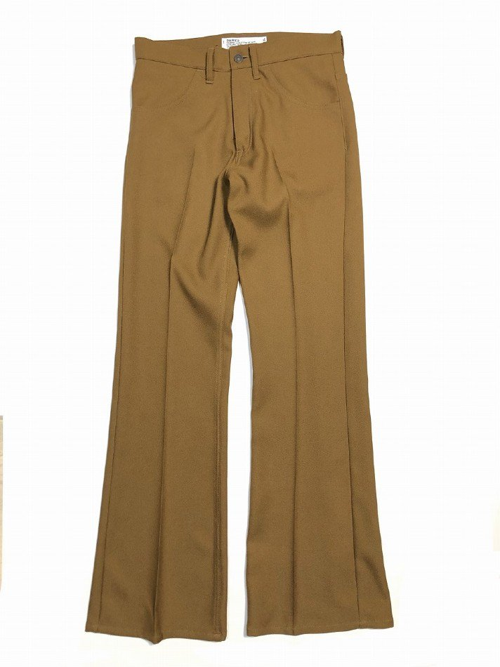 DAIRIKU<br />Flare Flasher Pressed Pants / Soil  <img class='new_mark_img2' src='https://img.shop-pro.jp/img/new/icons14.gif' style='border:none;display:inline;margin:0px;padding:0px;width:auto;' />