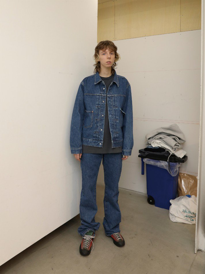 ALLEGE<br />Bleaching Denim Blouson / L.BLUE <img class='new_mark_img2' src='https://img.shop-pro.jp/img/new/icons14.gif' style='border:none;display:inline;margin:0px;padding:0px;width:auto;' />