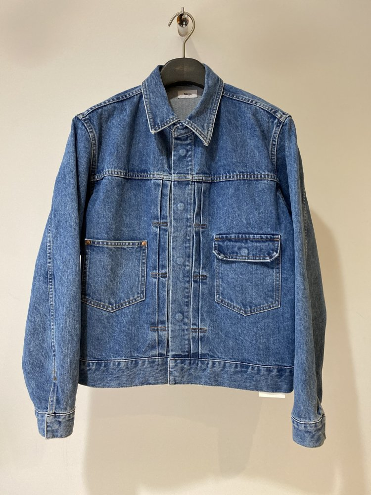 ALLEGE<br />[40%off] Bleaching Denim Blouson / L.BLUE <img class='new_mark_img2' src='https://img.shop-pro.jp/img/new/icons20.gif' style='border:none;display:inline;margin:0px;padding:0px;width:auto;' />