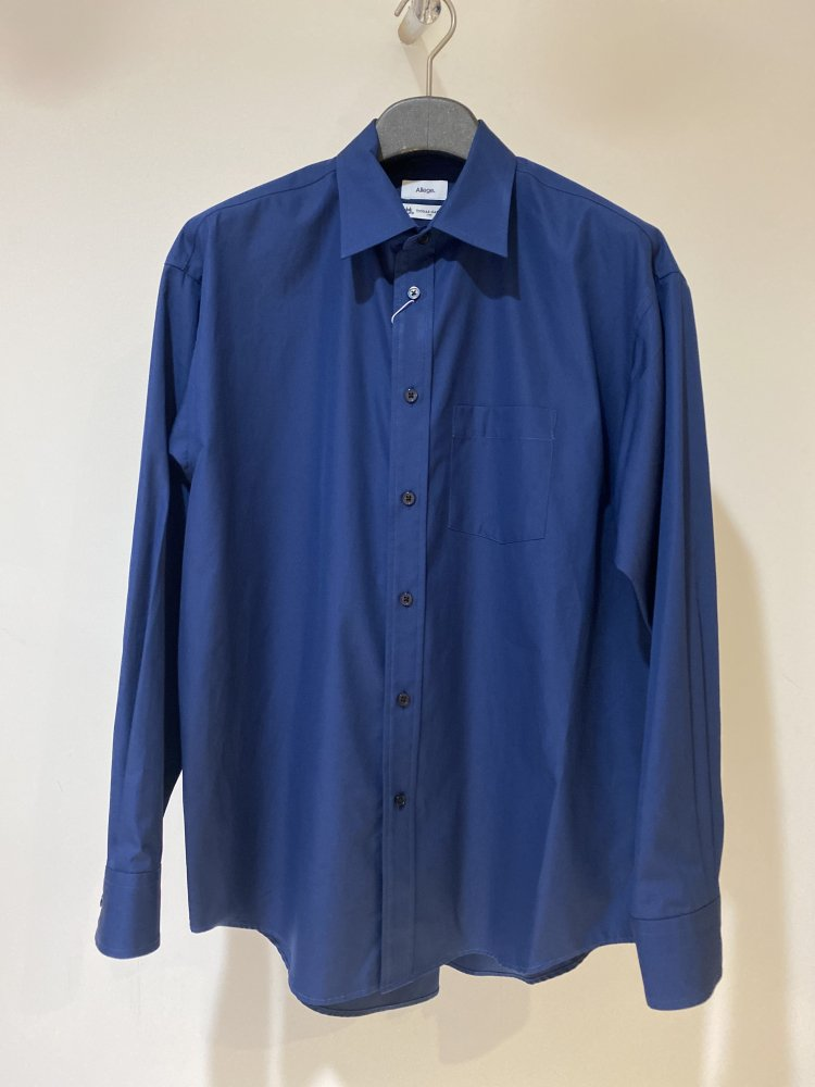 ALLEGE<br />Standard Shirt / NAVY <img class='new_mark_img2' src='https://img.shop-pro.jp/img/new/icons14.gif' style='border:none;display:inline;margin:0px;padding:0px;width:auto;' />