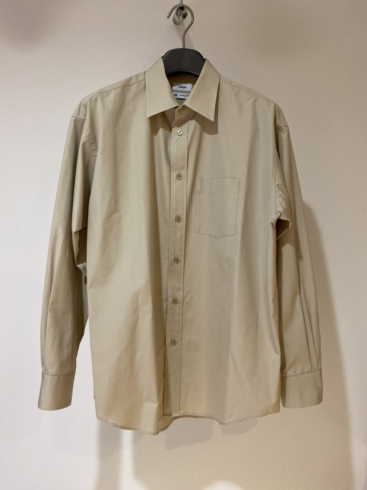 ALLEGE<br />Standard Shirt / BEIGE  <img class='new_mark_img2' src='https://img.shop-pro.jp/img/new/icons14.gif' style='border:none;display:inline;margin:0px;padding:0px;width:auto;' />