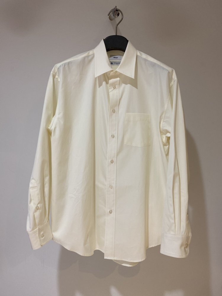 ALLEGE<br />Standard Shirt / YELLOW  <img class='new_mark_img2' src='https://img.shop-pro.jp/img/new/icons14.gif' style='border:none;display:inline;margin:0px;padding:0px;width:auto;' />