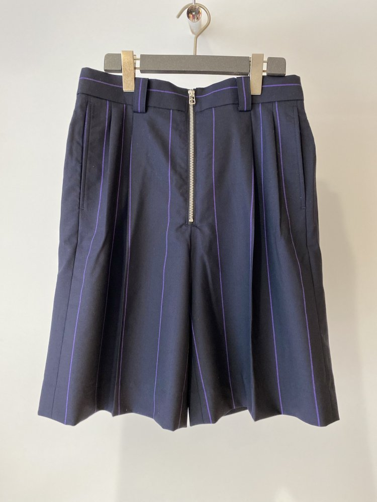 LITTLEBIG<br />Stripe Short Trousers / Navy