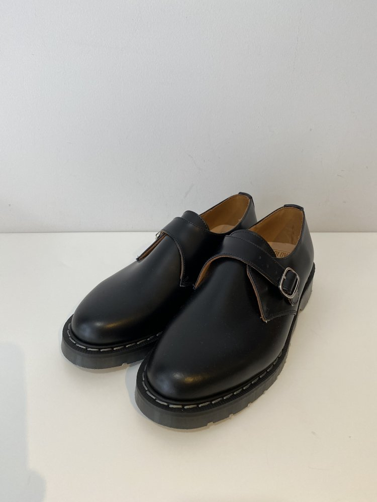 SOLOVAIR<br />THE MONK SHOE / BLACK